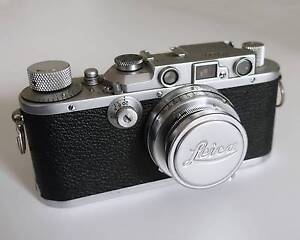 Leica IIIA 35mm film camera with 50mm summar collapsible lens Surry Hills Inner Sydney Preview