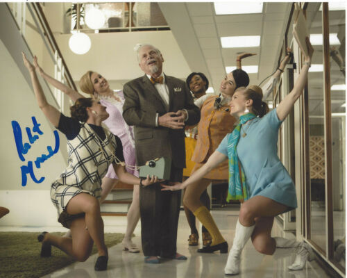 ROBERT MORSE SIGNED AUTHENTIC MAD MEN 'BERT COOPER' 8X10 PHOTO B w/COA ACTOR