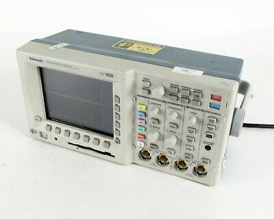 Tektronix Tds3054 Four Channel Color Digital Phosphor Oscilloscope 500mhz 5gss