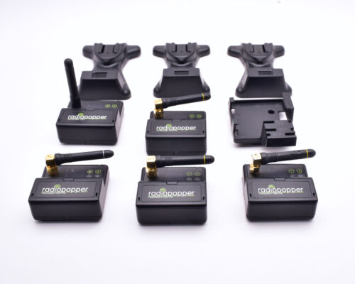 RadioPopper Misc PX Transmitter Receiver Bracket Lot READ (#8945)