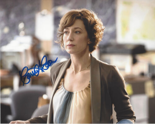 CARRIE COON SIGNED AUTHENTIC 'THE LEFTOVERS' 8X10 PHOTO COA ACTRESS THE POST