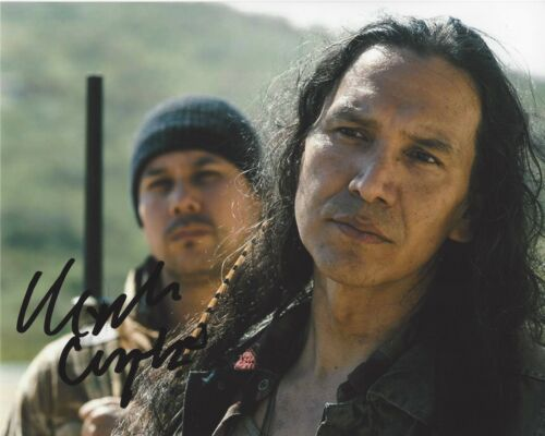 MICHAEL GREYEYES SIGNED 8x10 PHOTO A w/COA FEAR THE WALKING DEAD TRUE DETECTIVE