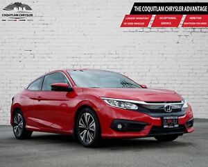 2016 Honda Civic Coupe EX-T - ALLOY WHEELS, SUNROOF!