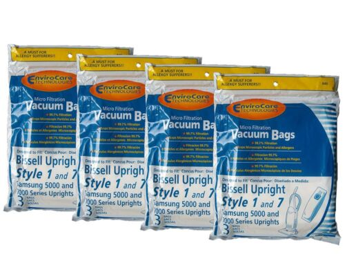 12 Bissell Style Micro Lined 1 , 7 #30861 and Samsung Vacuum bags, PowerForce...