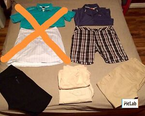 Lot of Women's L/XL Clothes (great for golf)
