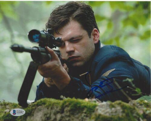 SEBASTIAN STAN SIGNED CAPTAIN AMERICA: CIVIL WAR 8x10 MOVIE PHOTO 1 BECKETT COA