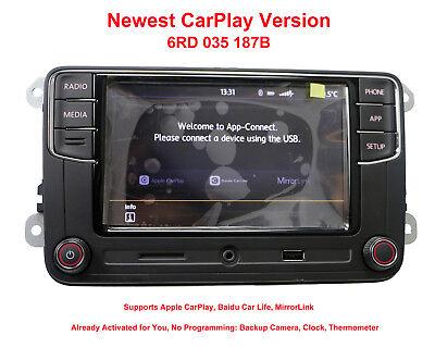 RCD330G Radio 6.5'' MIB UI Stereo CarPlay APPs MirrorLink Bluetooth RCD340 VW