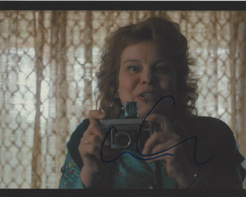 CATHERINE CURTIN SIGNED AUTHENTIC 'STRANGER THINGS' 8X10 PHOTO C w/COA ACTRESS