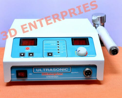 Original Therapeutic Home Ultrasound Therapy 1Mhz Portable chiropractic machine