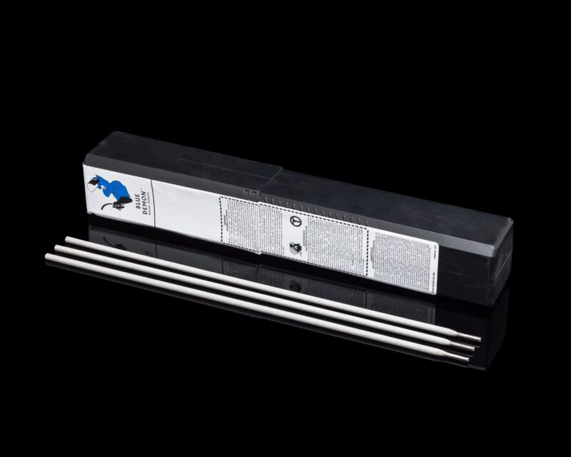 "E6013 1/16"" Steel Welding Electrodes 5 lb Blue Demon"