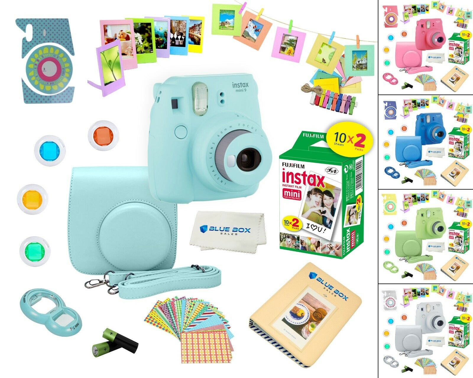 Fujifilm Instax Mini 9 Instant Camera 20 Fuji Film Sheets pl