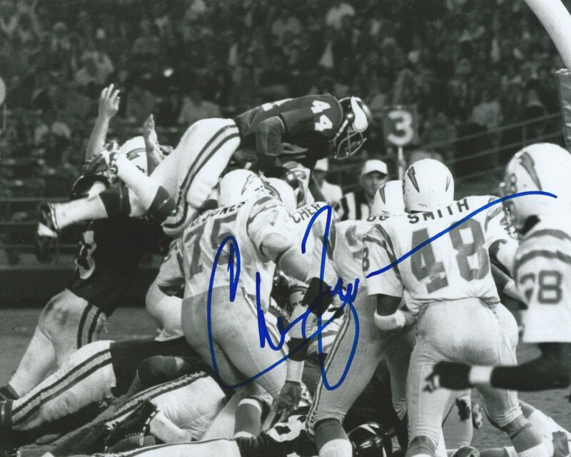 **GFA Minnesota Vikings *CHUCK FOREMAN* Signed 8x10 Photo C3 COA**