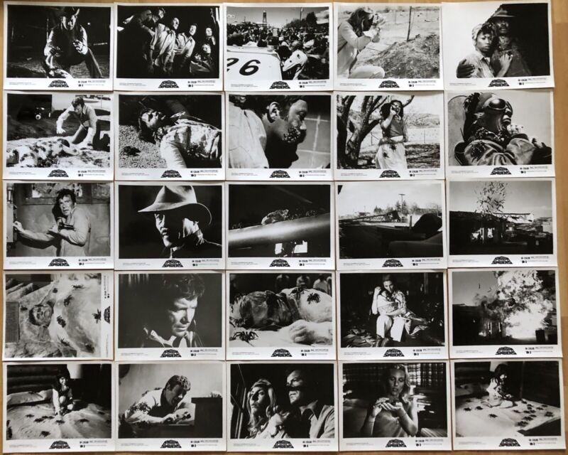 KINGDOM OF THE SPIDERS 1977 ORIGINAL U.S. SET OF 25 MOVIE STILLS NEAR MINT