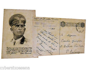 CARTOLINA-postale-forze-armate-WW2-vittorio-emanuele