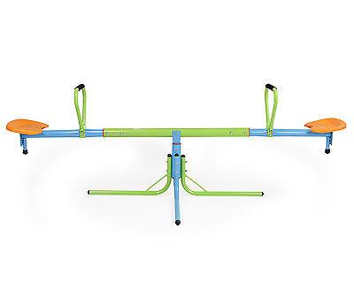 Ondis24 Kinderwippe Metall drehbar verstellbar Wippschaukel Spielgerät Karussell
