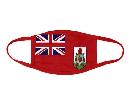 Bermuda Flag Face Mask Washable Face Covering