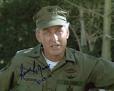 Lance LeGault - Colonel Decker - The A-Team - Signed Autograph REPRINT