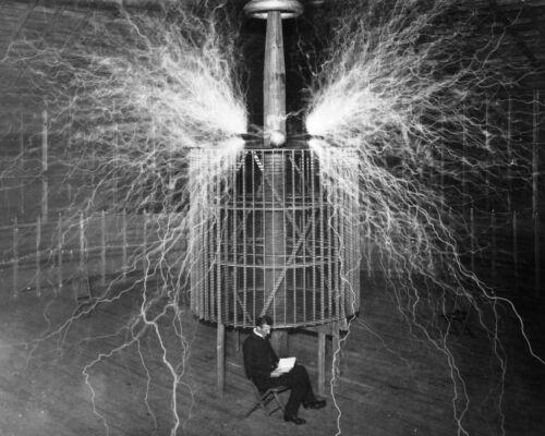 Nikola Tesla 8X10 Photo Picture Image American inventor engineer futurist AC #3