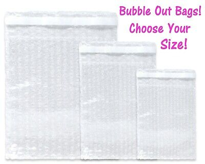 Bubble Out Bags Protective Pouch Wrap Lightweight Mailing Air Padded Cushions