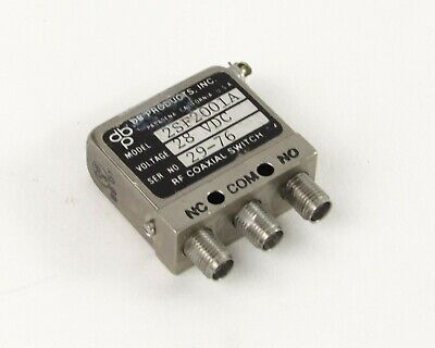 Db Products 2sf2001a Rf Coaxial Switch - 28 Vdc Sma Female