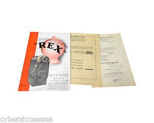 REX-economizzatore-di-carbone-libretto-1938