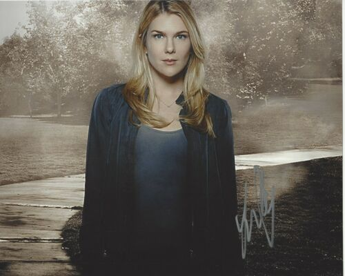 ACTRESS LILY RABE SIGNED AMERICAN HORROR STORY 8x10 PHOTO E w/COA VOLTRON VICE