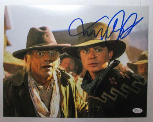 Michael J Fox Signed 'Back To The Future Part 3' 11x14 Photo EXACT Proof JSA B