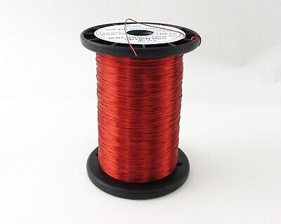 Mws Red Magnet Wire Nema Mw80-c Class 155 26 Hpn Red 73355-02 1.04lbs