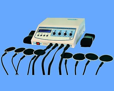 Physiotherapy Electrotherapy 4 Channel Stimulator Model Dynoplus Lcd Display Ujf