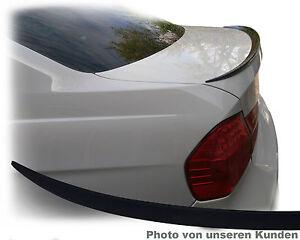 BMW E90 Styling 325i 320 318 330 323 335 M3 Spoiler Heck Lippe KOFFERRAUM Flügel