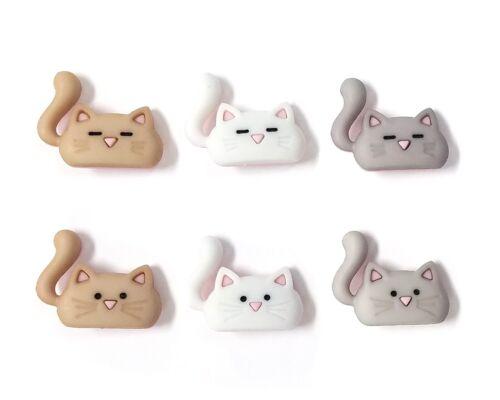 Coolest Cats Buttons Jesse James Buttons Dress It Up Embellishment Collection