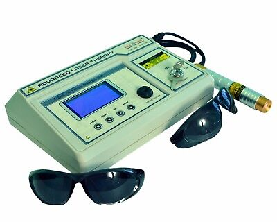 Electrotherapy Physiotherapy Computerised Laser Therapy Machine .