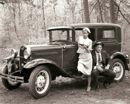 BONNIE & CLYDE WANTED POSTER 8.5 X11 PHOTO PICTURE REPRINT GANGSTER BANK ROBBERS