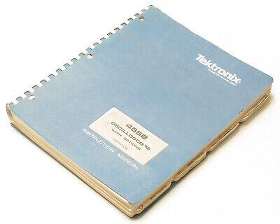 Tektronix 465b Oscilloscope Service Instruction Manual