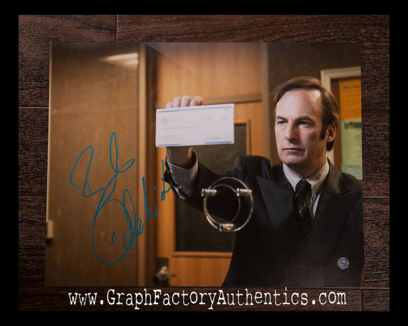 GFA Breaking Bad Better Call Saul * BOB ODENKIRK * Signed 11x14 Photo AD2 COA