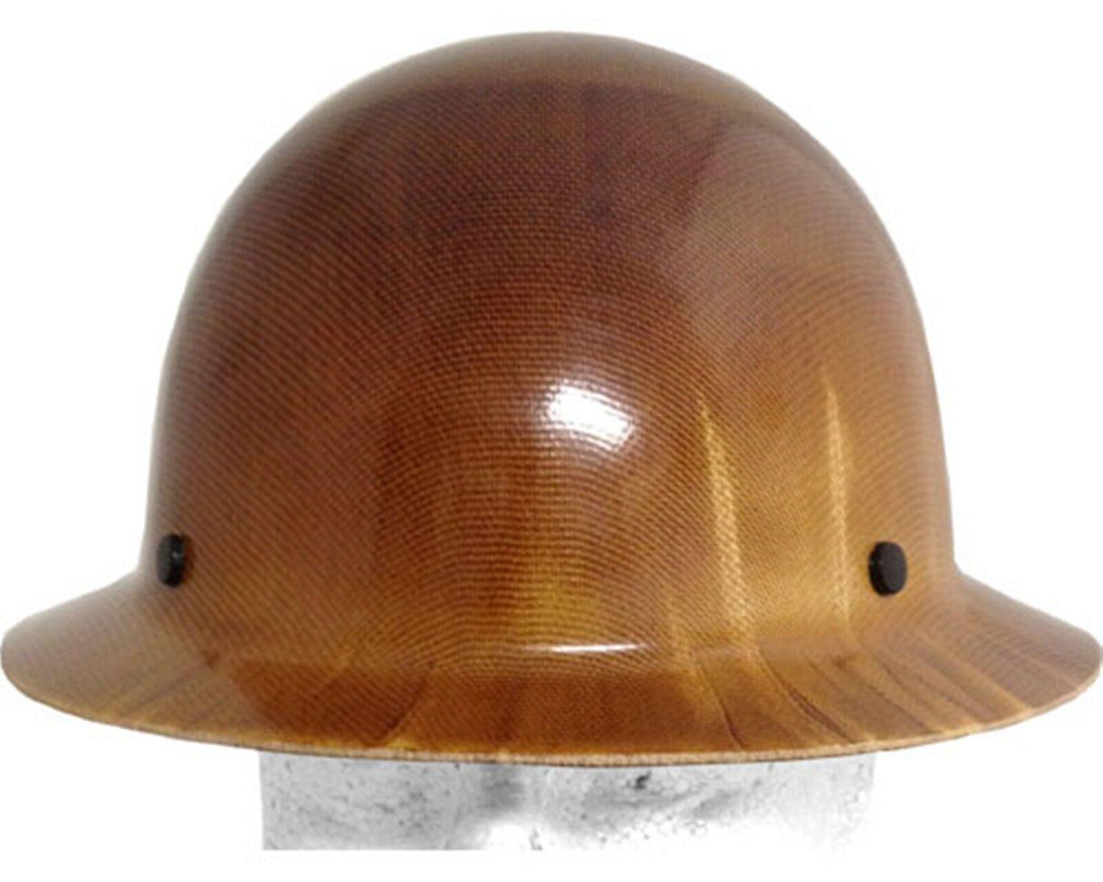msa skullgard fiberglass fb hard hat with ratchet or pin