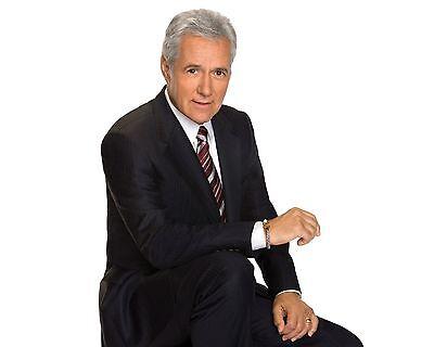 Alex Trebek / Jeopardy 8 x 10 / 8x10 GLOSSY Photo Picture