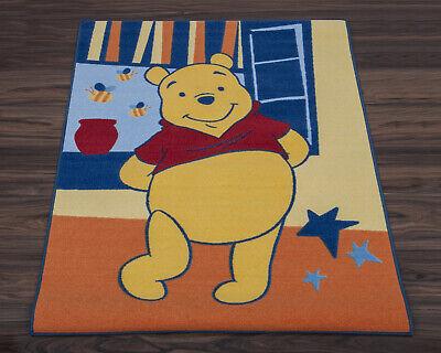 Winnie the Pooh Official Disney Children's Rug/Play Mat in Orange 95cm x...