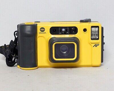Minolta Weathermatic Dual 35 Auto Focus Point and Shoot P&S 35mm film camera