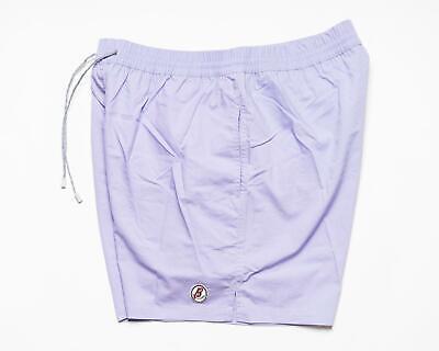 Brioni $ 400 Nwt Solid Violett Lila Baumwolle Herren Badeanzug Badehose XXL - Solid Herren Badeanzug