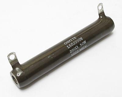 Ohmite L50j200e Power Resistor 200 Ohm 50w 5 10pcs