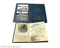 Patente Guida Primo Grado 1928 Reggio Emilia -  - ebay.it