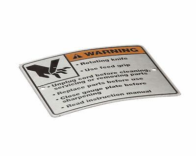 Hobart 00-438131-054-2 Label Warning