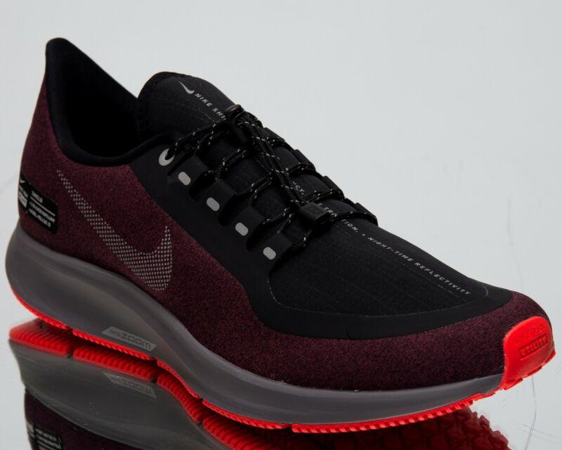 00197e94e57 Nike Air Zoom Pegasus 35 Shield New Men s Running Shoes Black Silver AA1643 -004