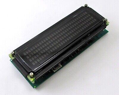 ARGUS Alphanumeric Plasma Display P/N: 03100-06-128N