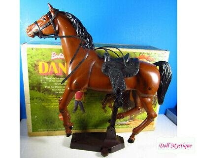 Dancer Barbie Horse original with box, stand, accessories vintage 1970 Mattel