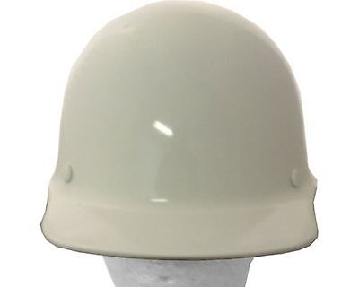Msa Skullgard Cap Style White Fiberglass Hard Hat Ratchet Or Pin Lock Susp
