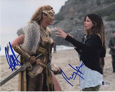 Wonder Woman Signed 8X10 Photo Patty Jenkins Connie Nielsen Autograph Bas Coa