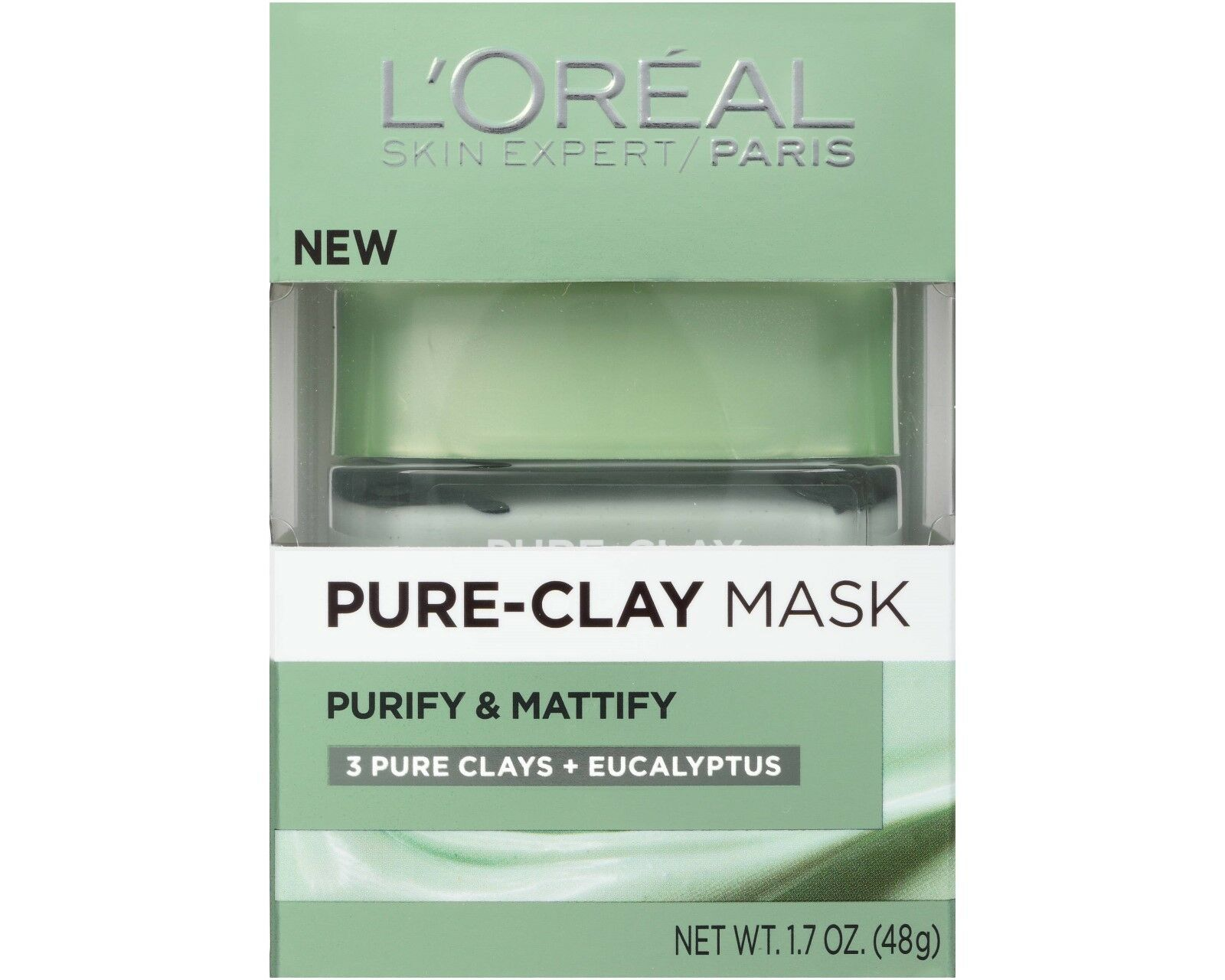 L'oreal pure-clay mask purify & mattify 3 pure clays+