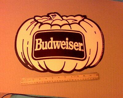 """Vintage Budweiser Beer Halloween Advertising 14 &. 1/2"""""""
